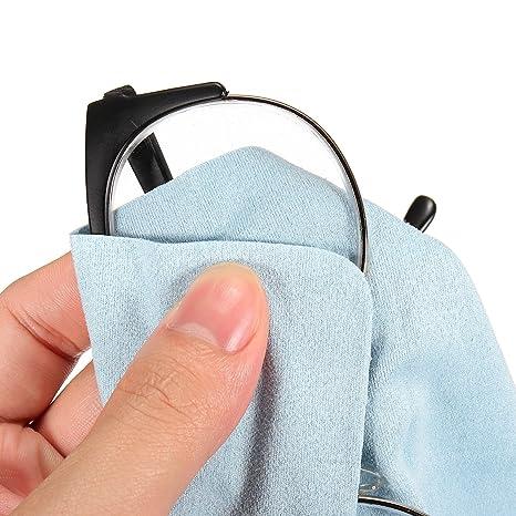 EgBert 1Pcs Anti-Niebla Gafas De Lectura Paño Cámara Lente Móvil Pantalla Limpiaparabrisas Baño Vidrio