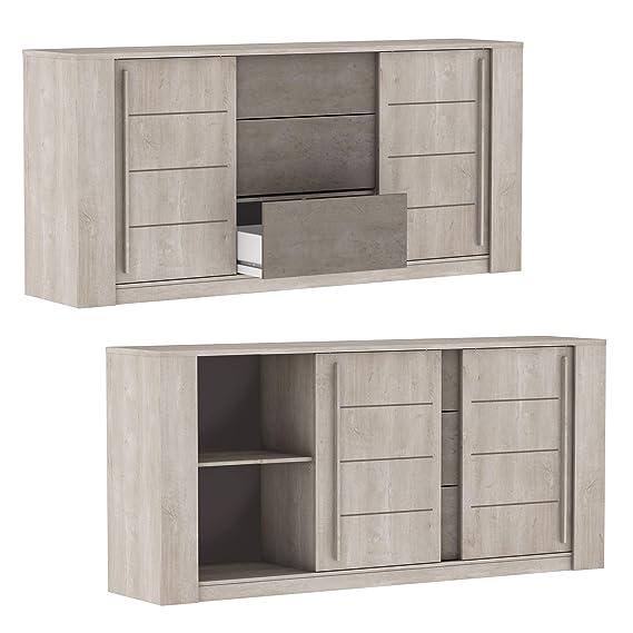 Miroytengo Pack mobiliario salón Comedor diseño Moderno ...