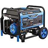 Pulsar 12,000W Dual Fuel Portable Generator with Electric Start and Switch & Go Technology, CARB Approved PG12000B