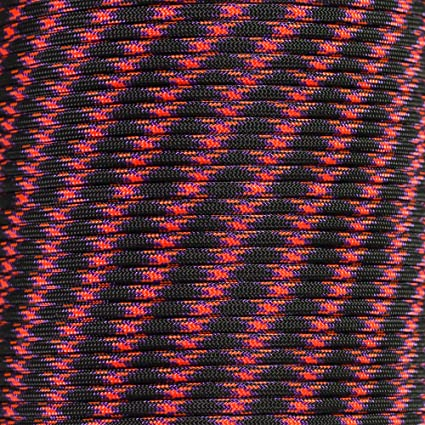 550 Parachute Cord Paracord USA Made 109 Colors 7 Strand 50 or 100 FT Type 3