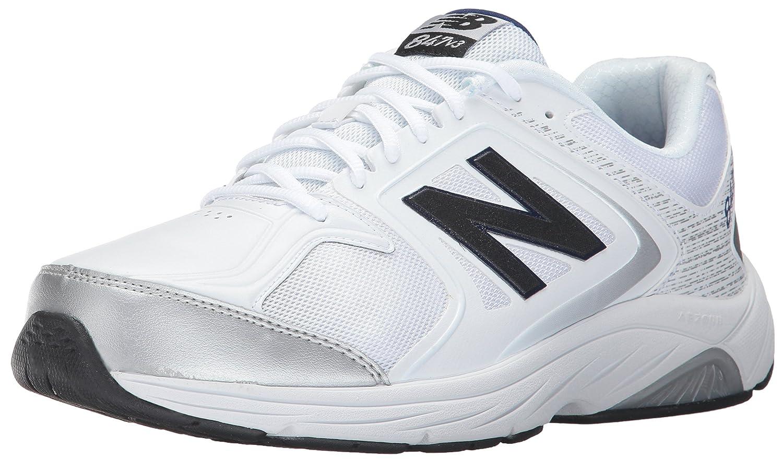 New Balance Men's 847V3 Walking Shoe 10 2A US|White/Grey
