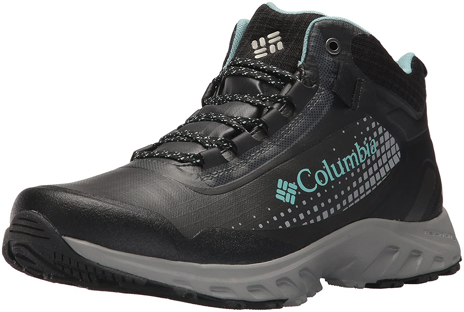 Columbia Women's Irrigon Trail Mid Outdry Xtrm Hiking Boot B073RNBW3L 8 B(M) US|Black, Iceberg