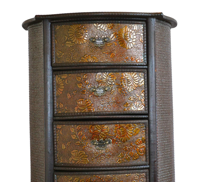 Generic M Living Roomit Oriental Da Oriental Tiroir Chinois fonc/é en Bois pour Chambre /à Coucher ou Salon