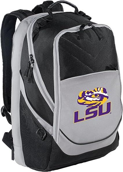 Broad Bay LSU Tigers Backpack LSU Laptop Computer Bag