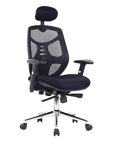amazon com eliza tinsley mesh high back executive swivel desk