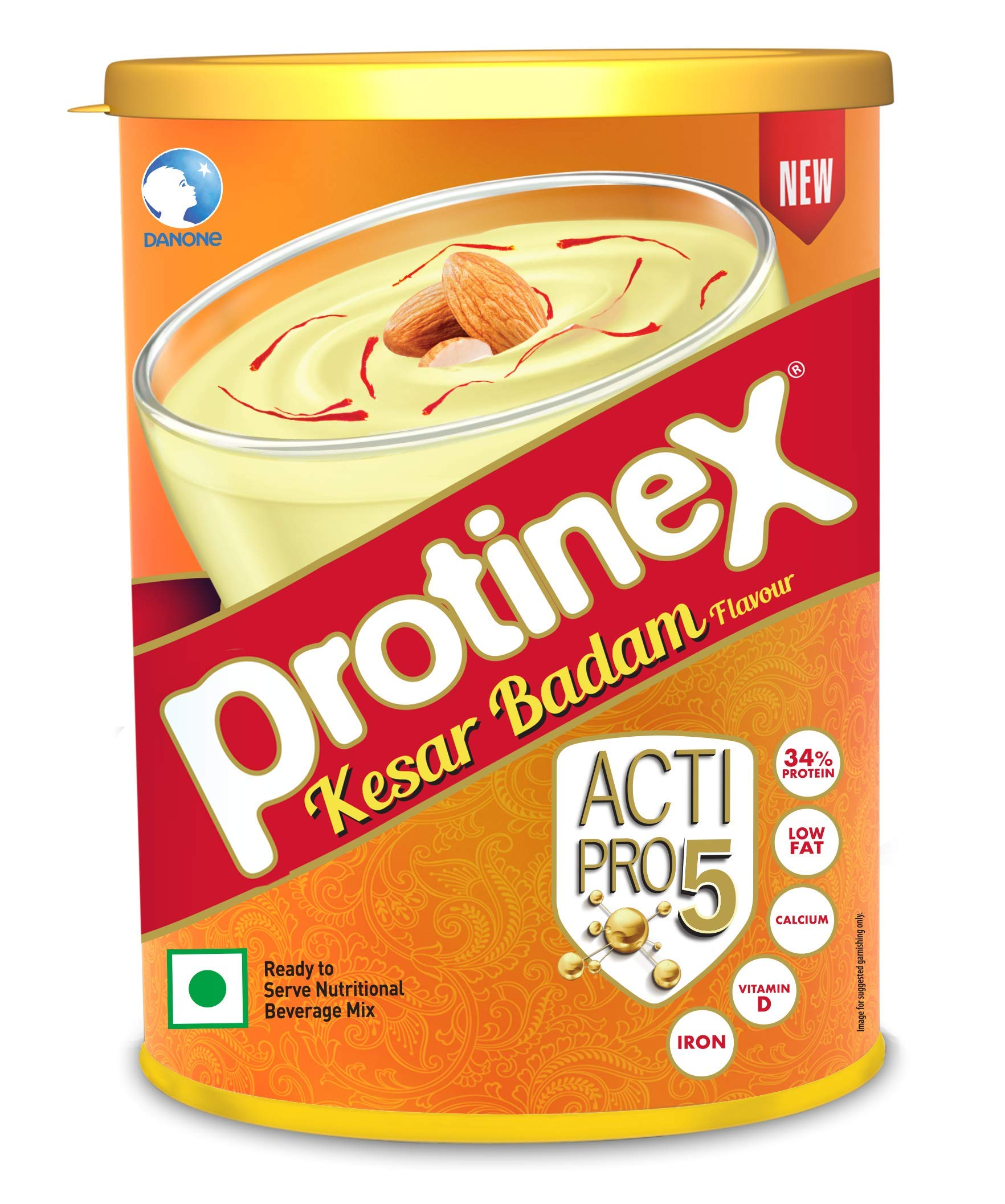 Protinex Kesar Badam with Actipro 5 for Good Muscle Health, 250g product image