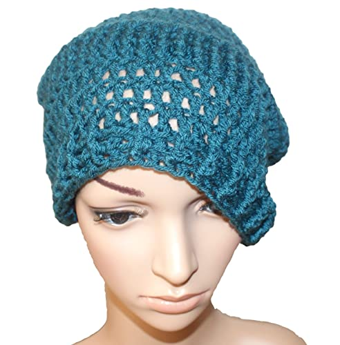 Image Unavailable. Image not available for. Color  Teal Winter Hat ... b975e717281
