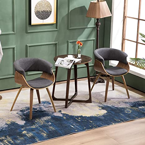 Amazon.com: YEEFY Silla de salón tapizada sillas de comedor ...