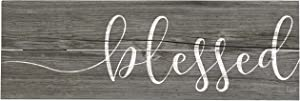 Rustic Pallet Art Blessed 18