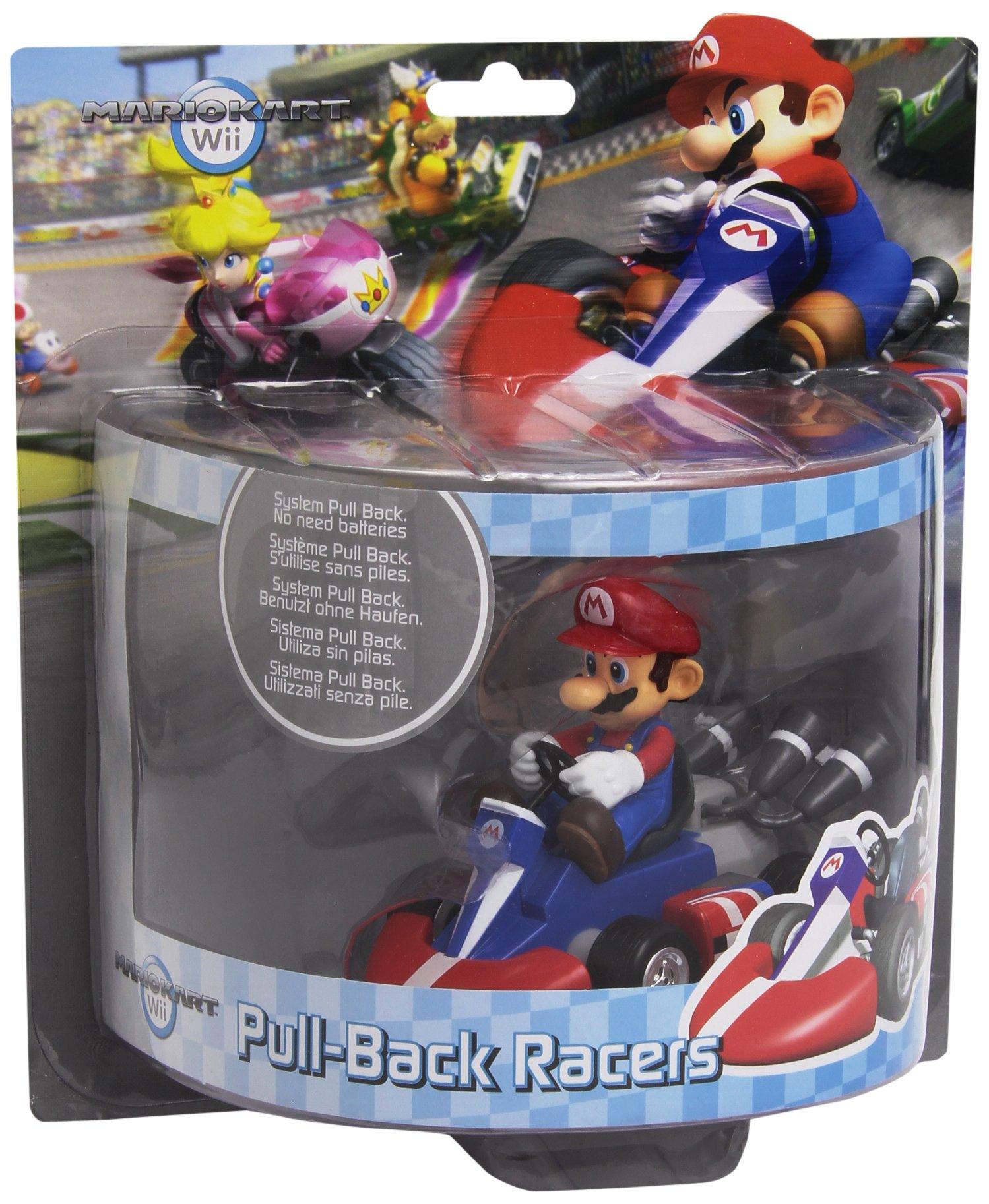 Nintendo 12cm Mario Kart Pullback Mario
