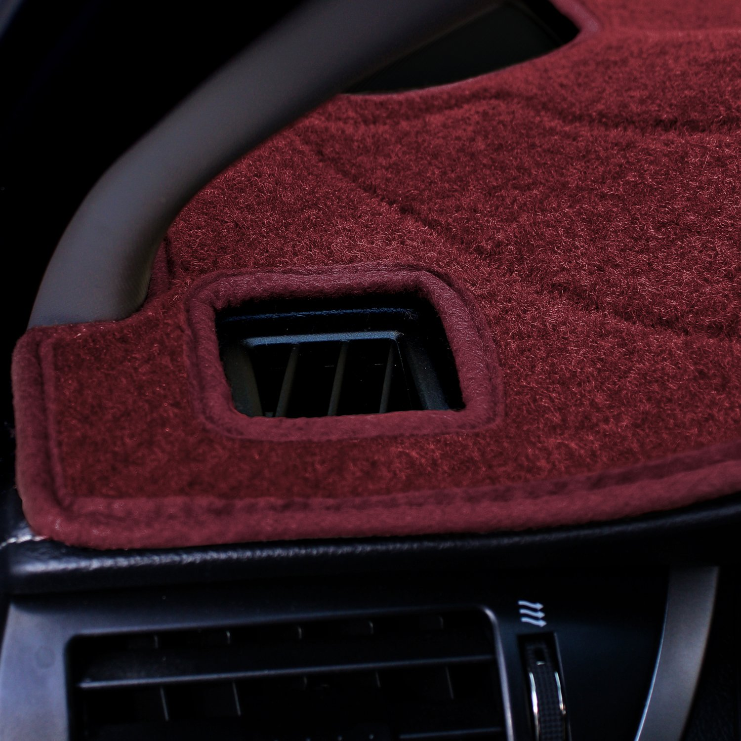 Poly Carpet Coverking Custom Fit Dashcovers for Select Dodge Neon Models Black
