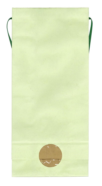 マルタカ カラークラフト 無地 わかば 窓付 角底 3kg用紐付米袋 1ケース(300枚入) KH-0880 B077GKDR5M 3kg用米袋|1ケース(300枚入) 1ケース(300枚入) 3kg用米袋