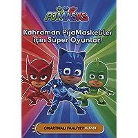 PJ Maskeliler - Kahraman PijaMaskeliler İçin Süper Oyunlar!: Çıkartmalı Faaliyet Kitabı
