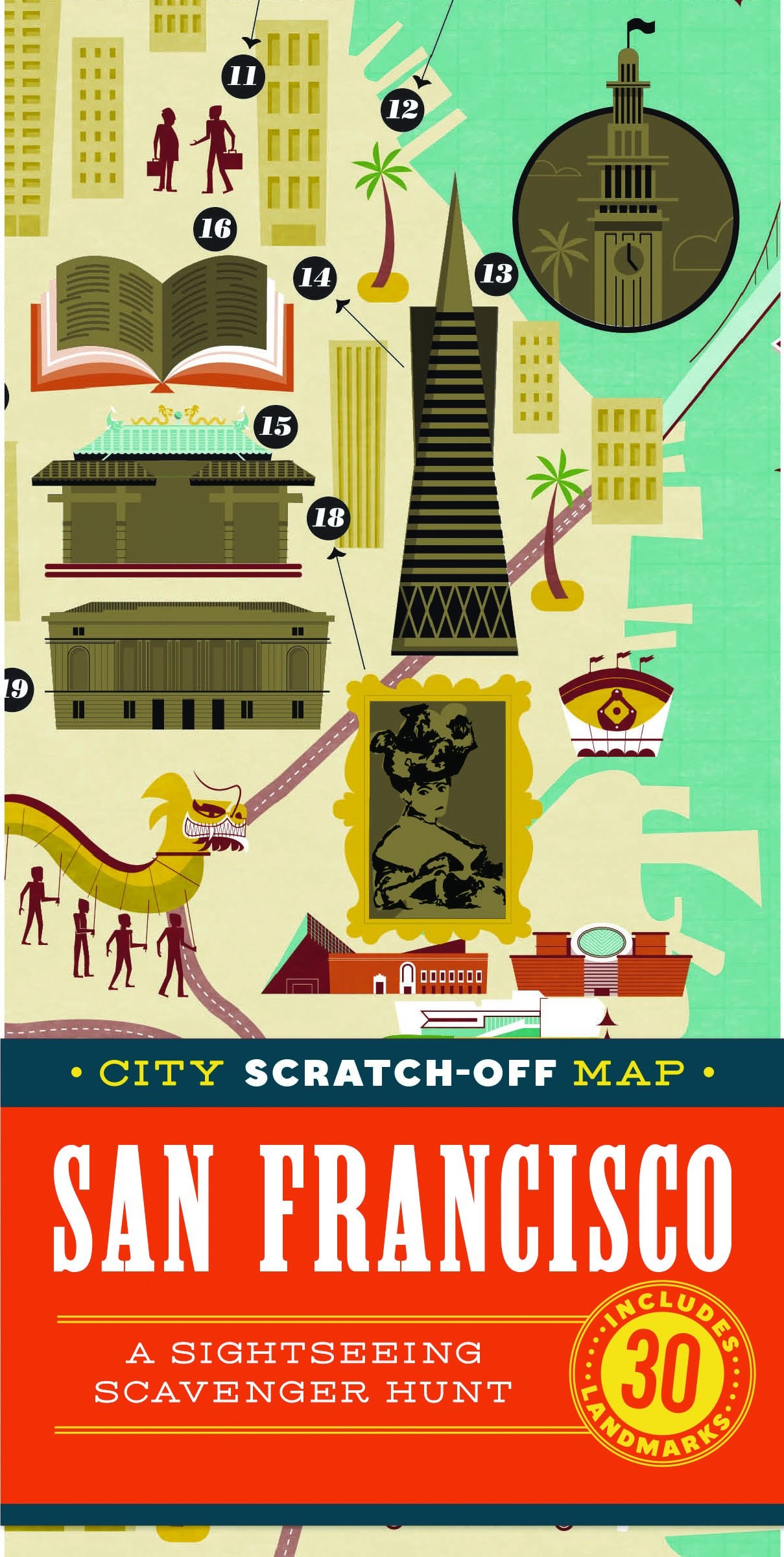 City Scratch-Off Map: San Francisco: A Sightseeing Scavenger ... on victoria sightseeing map, santa cruz sightseeing map, fisherman's wharf sightseeing map, hollywood los angeles sightseeing map, japanese tea garden sf map, houston sightseeing map, hong kong sightseeing map, albuquerque sightseeing map, chicago sightseeing map, sf city map, bergen sightseeing map, boston sightseeing map, philadelphia sightseeing map, brooklyn sightseeing map, new jersey sightseeing map, london sightseeing map, california sightseeing map, charleston sightseeing map, tennessee sightseeing map, kansas city sightseeing map,