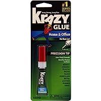 ELMERS Krazy Glue Instant Crazy Glue Home & Office Gel 0.07 Oz (Kg82648R)