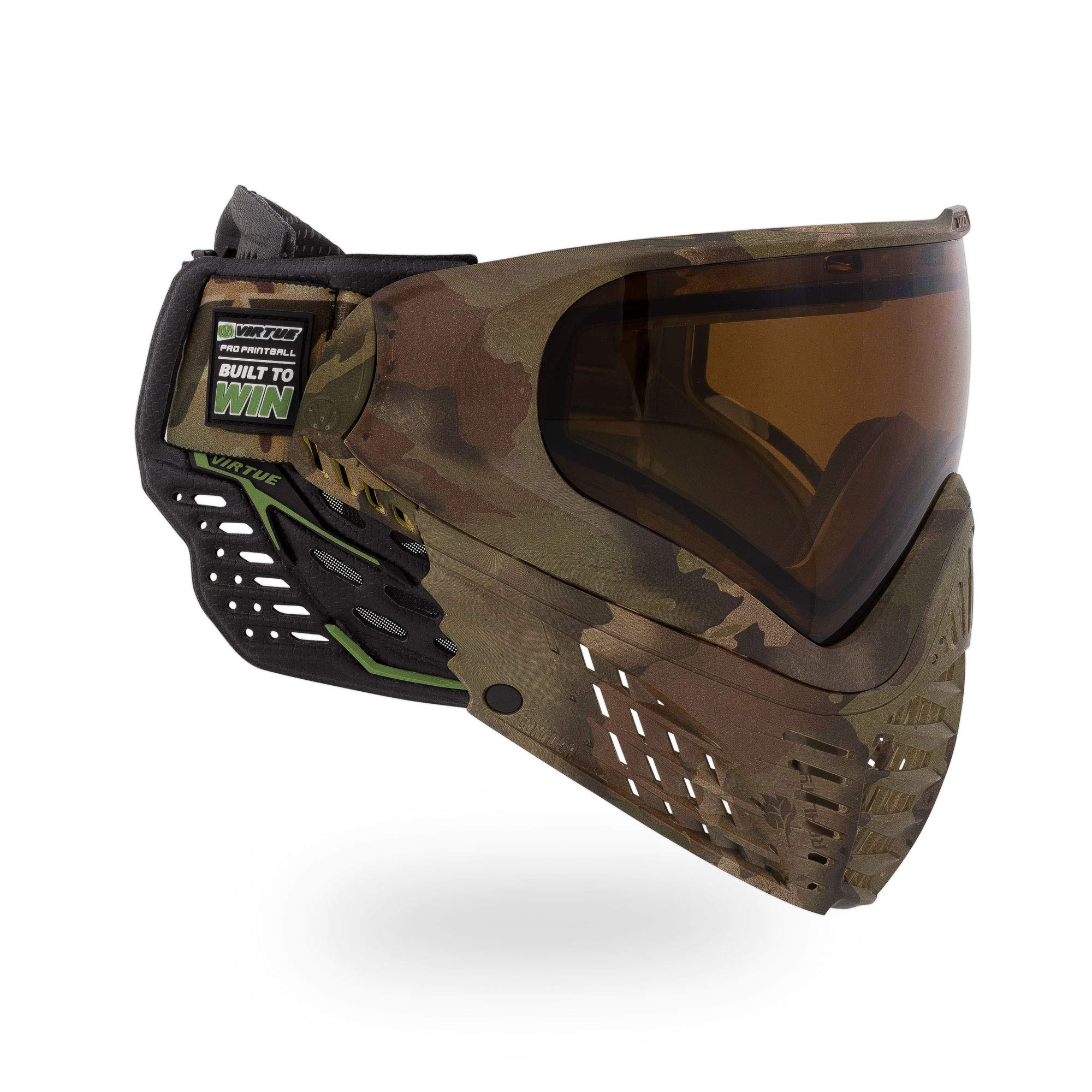 Virtue VIO Contour II Thermal Paintball Goggles/Masks - Reality Brush Camo by Virtue Paintball