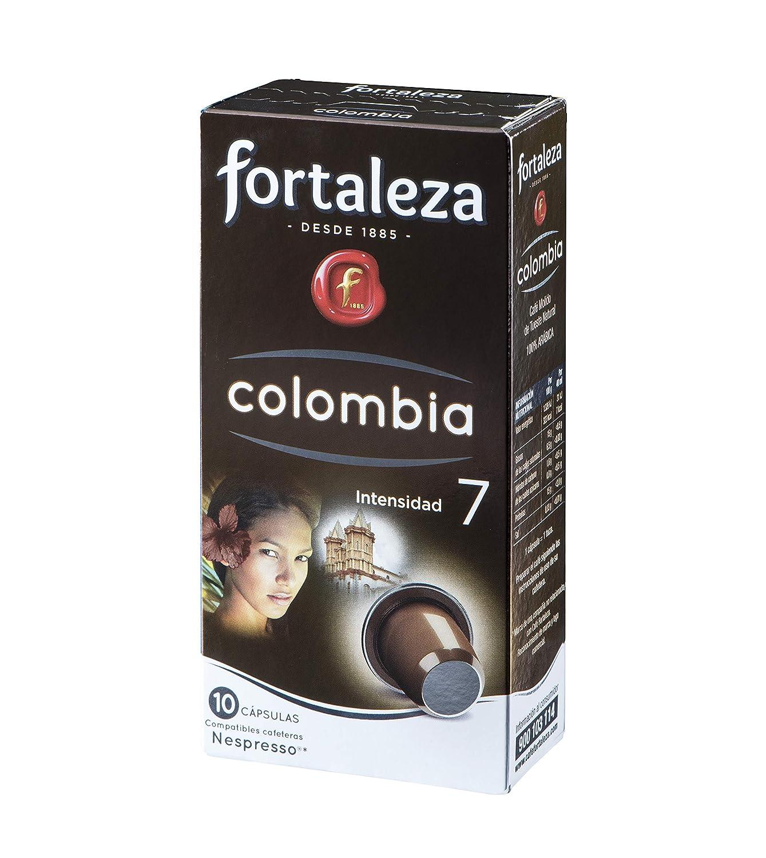 Nespresso compatible - Café Fortaleza Colombia - 10 cápsulas