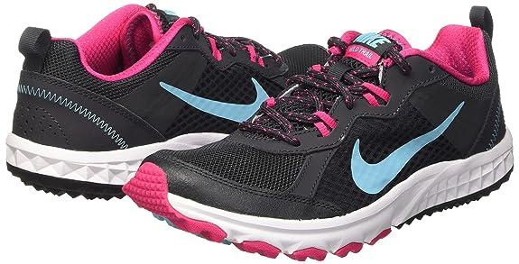 Nike Damen, Sportschuhe, WMNS wild Trail, grau (Anthracite