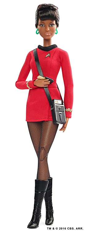 Uhura Barbie Star Trek 50th Anniversary Action Figure