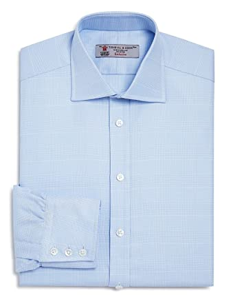 Turnbull & Asser Men\'s Long Sleeve Sky Blue Dress Shirt Size 16 at ...