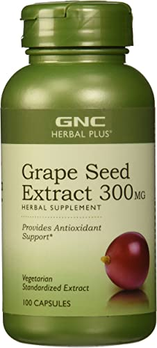 GNC Herbal Plus Grape Seed Extract