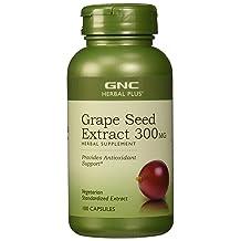 GNC Herbal Plus Grape Seed Extract 300MG 100 caps
