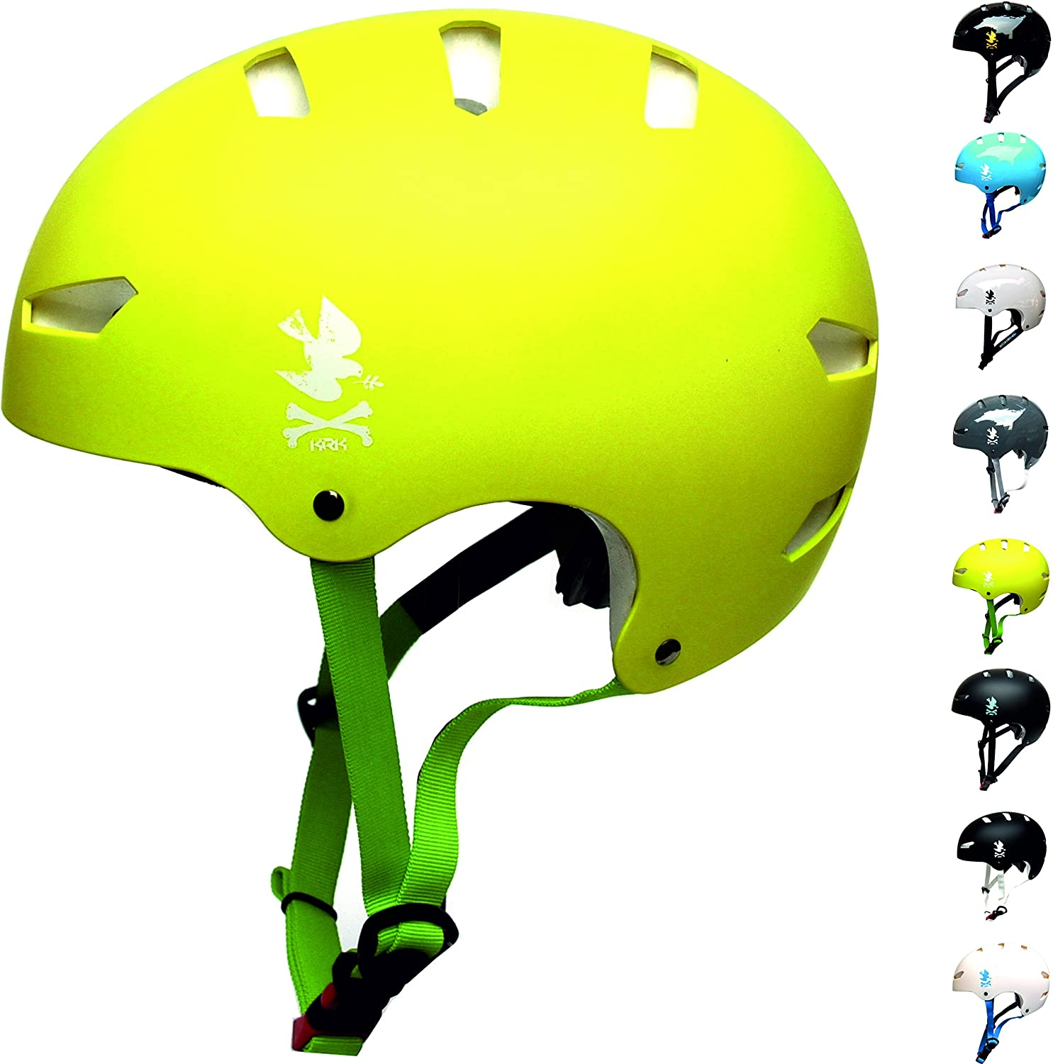 KRKpro tection | NoPeace | Cycling Bike Helmet | Roller, Skate, Inline Skating, BMX, MTB, Dirt | Many Colors | S/M L/XL