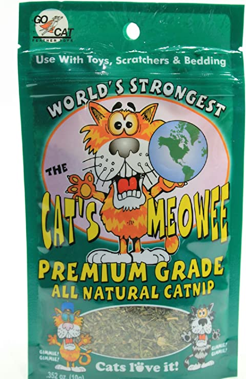 Amazon Com The Cat S Meowee Organic Catnip 0 352 Oz Pet Supplies