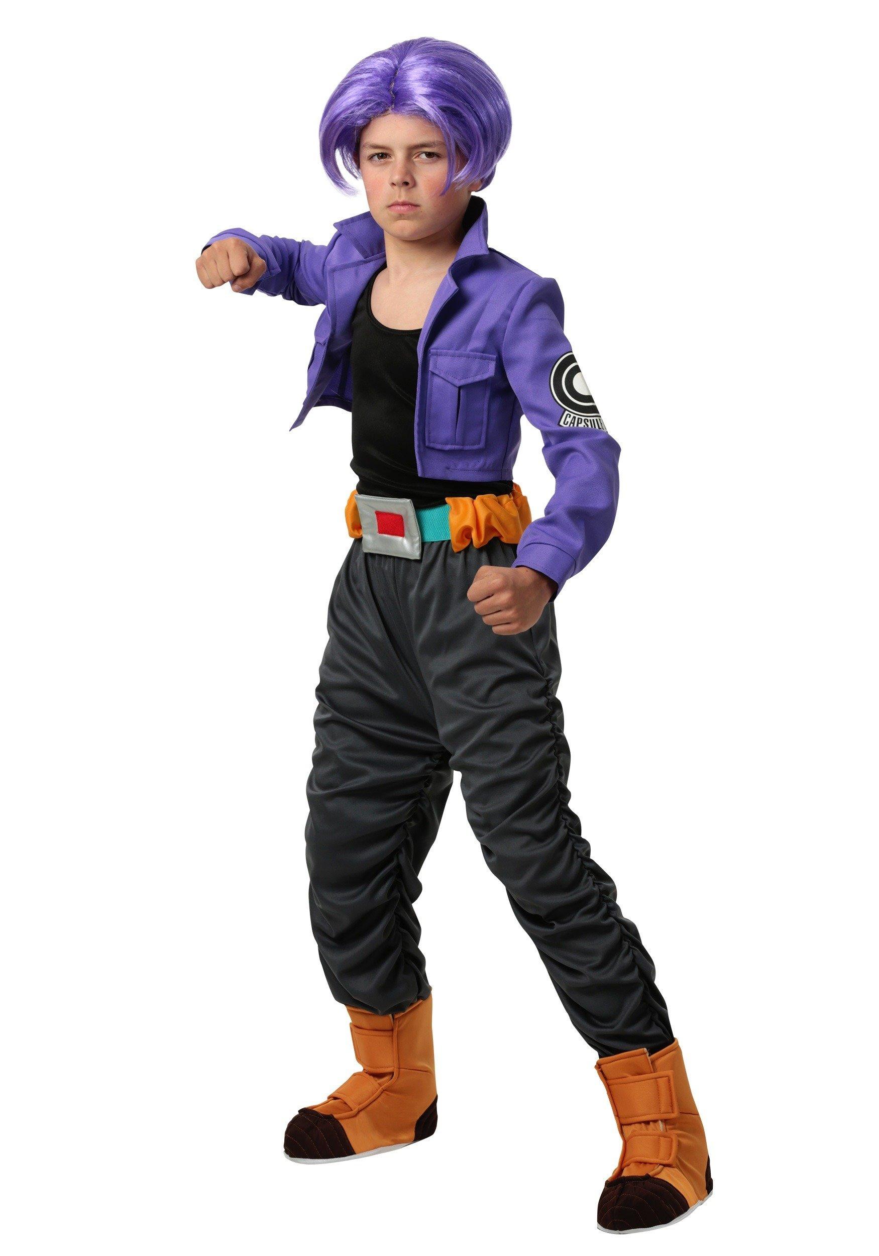 Kids Dragon Ball Z Trunks Costume - XL