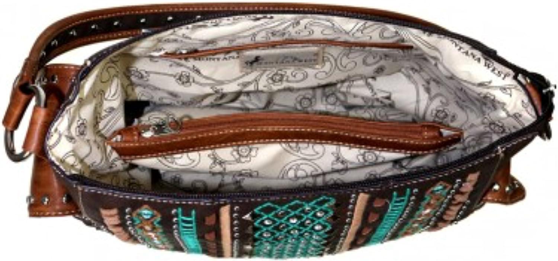 Montana West Tribal Concealed Handgun Hobo Handbag Purse