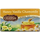 Celestial Seasonings Honey Vanilla Chamomile Tea Bags, 20 Count
