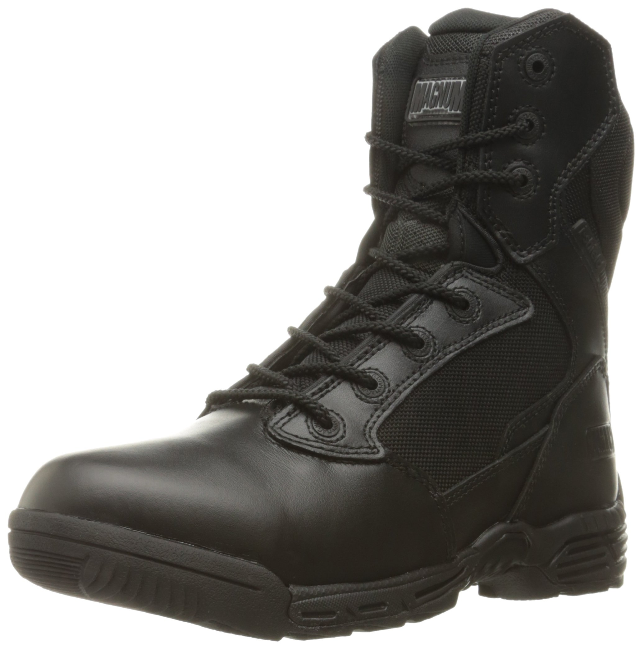 Magnum Women's Stealth Force 8.0 Side Zip Military and Tactical Boot, Black, 8 M US by Magnum