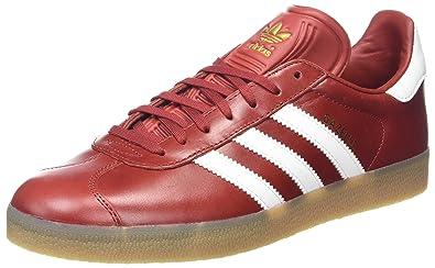 0d31b850a1c9 adidas Men s Gazelle Trainers Black  Amazon.co.uk  Shoes   Bags