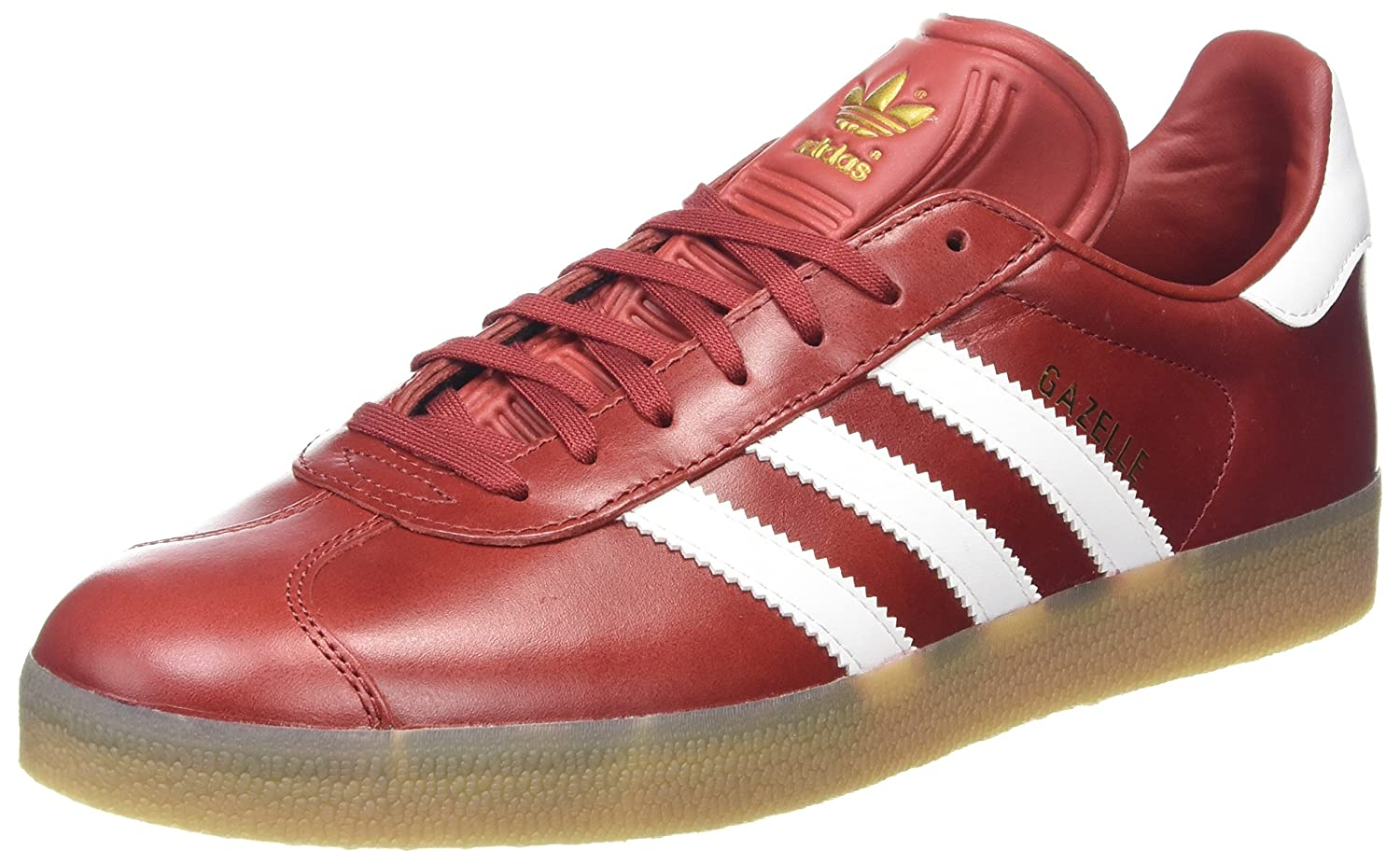 adidas Men's Gazelle Casual Sneakers B0714NWZBL 8 D(M) US|Red
