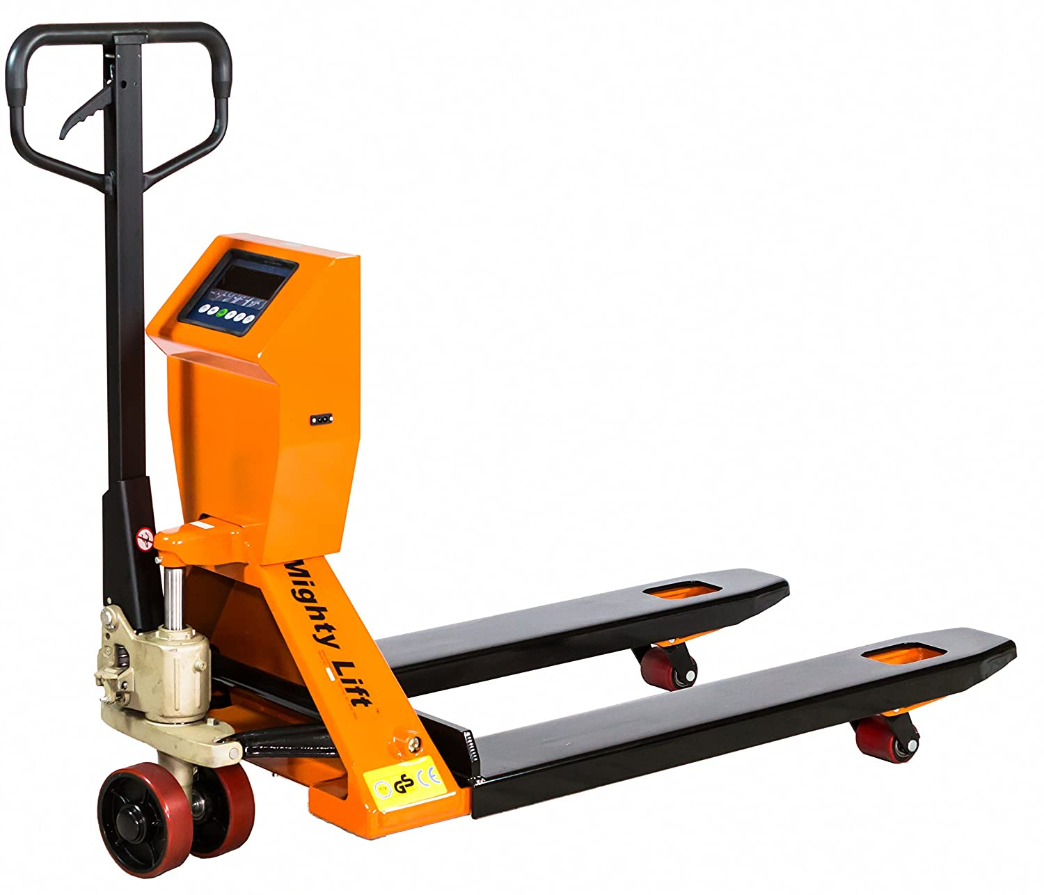 Tracked Pallet Jack: Mighty Lift SPT50 Scale Pallet Jack/Truck, 4400 Lb