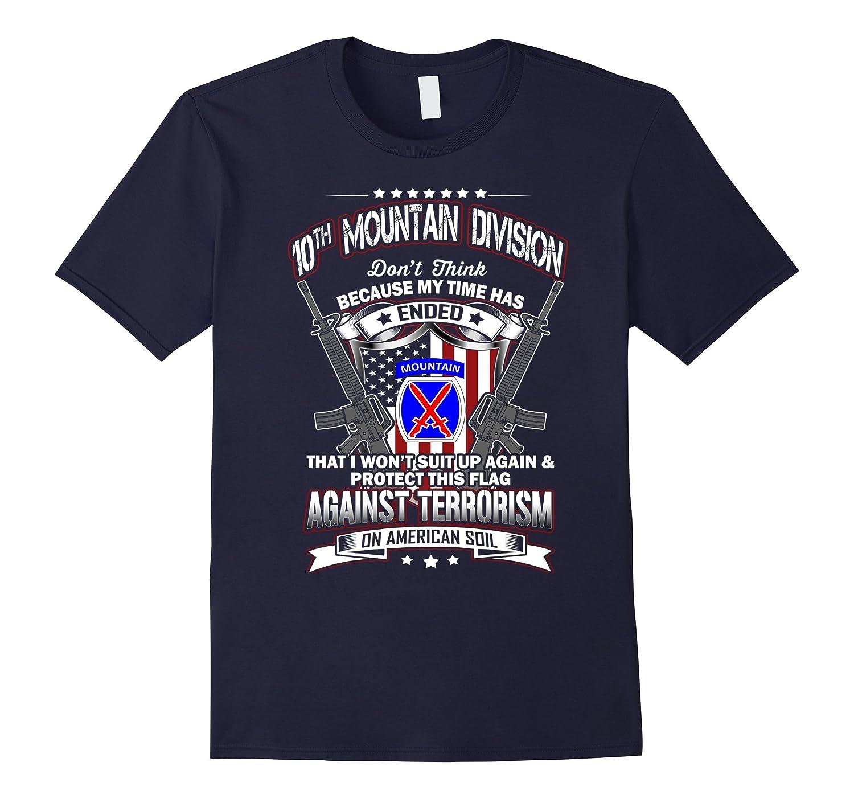 10th Mountain Division Veteran Vintage T-Shirt-TH