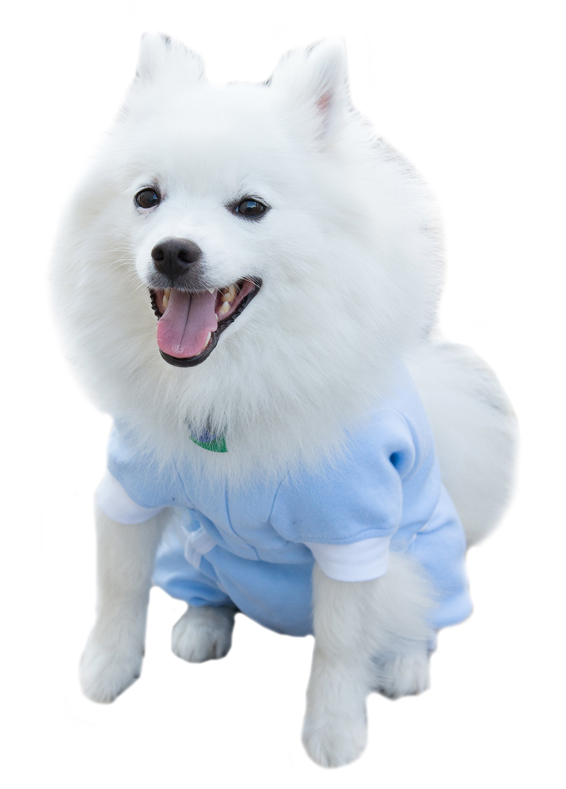 Cover Me by Tui Adjustable Fit Step-into with Long Sleeve for Pets, XX-Large, Blue by Cover Me by Tui  Adjustable Fit