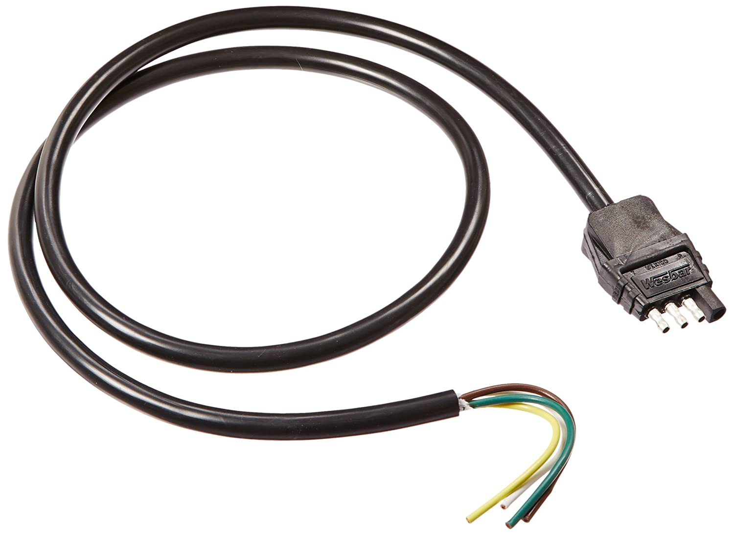 Amazon.com: Wesbar 787264 Trailer End Connector Wire: Automotive