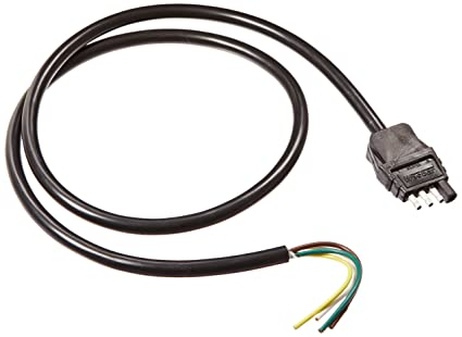 Amazon.com: Wesbar 787264 Trailer End Connector Wire: Automotive on 6 pin cable, 6 pin connectors harness, 6 pin power supply, 6 pin ignition switch, 6 pin transformer, 6 pin throttle body, 6 pin switch harness, 6 pin wiring connector, 6 pin voltage regulator,
