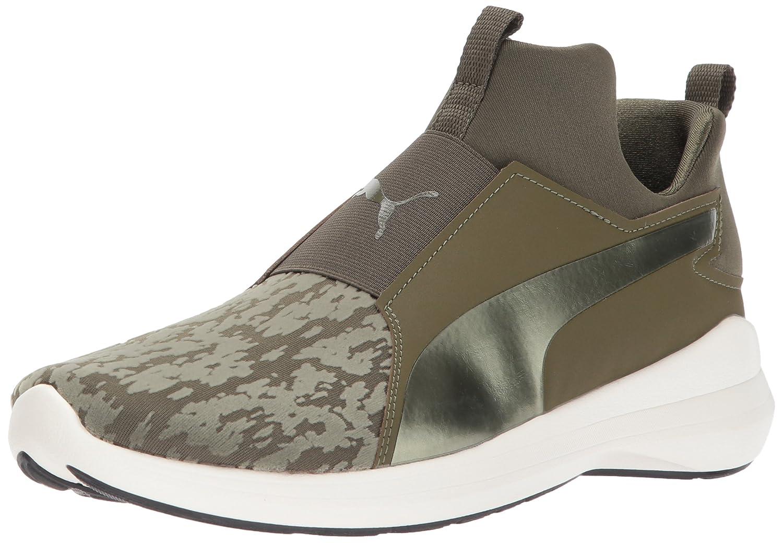PUMA Women's Rebel Mid WNS VR Sneaker B01N0RQXRI 7.5 B(M) US|Olive Night-olive Night