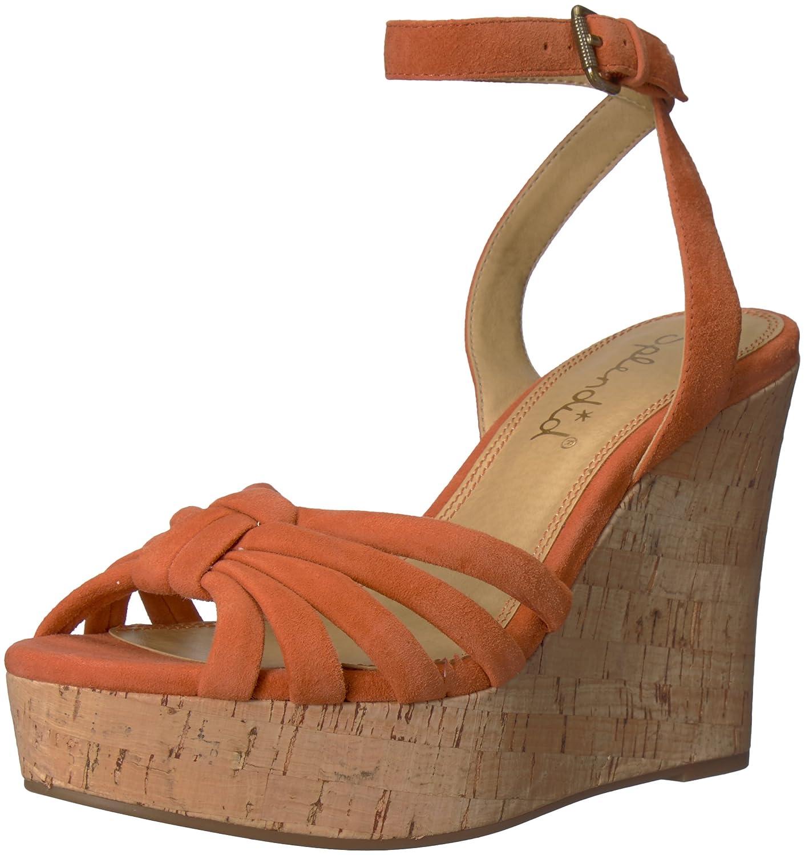 Splendid Women's Fallon Wedge Sandal B074R4ZX2S 11 B(M) US|Coral