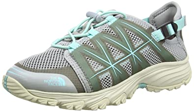 The North Face Damen Litewave Amphibious Trekking-& Wanderhalbschuhe, Mehrfarbig (Grey/Breeze Blue), 38 EU