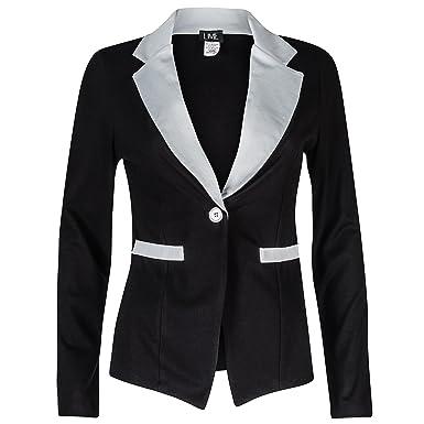 Womens black blazer amazon
