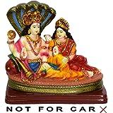 VISHNU LAXMI Gift Statue Idol Showpiece Murti LxHxW(cm) = 15x14x7.5