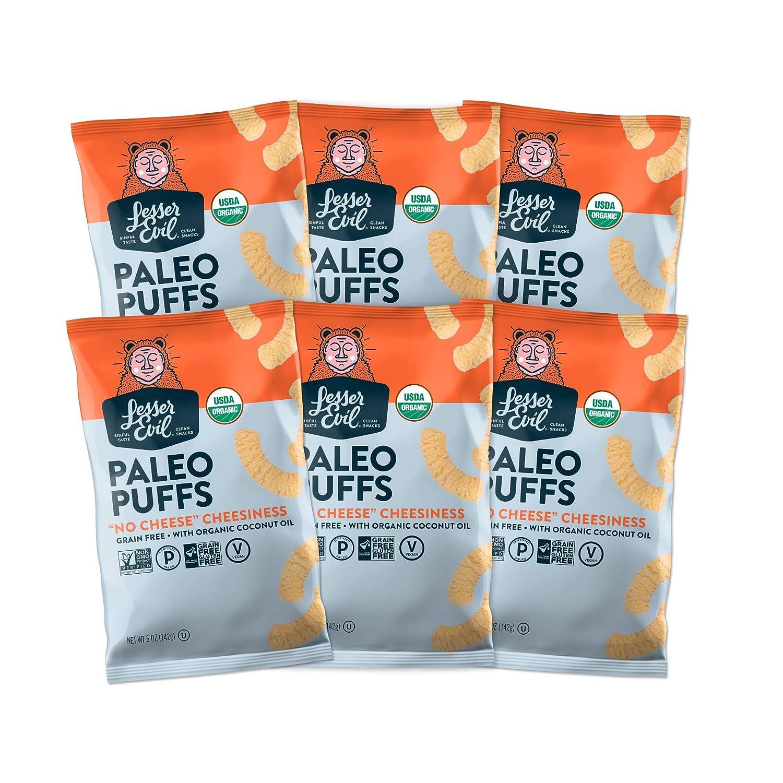 LesserEvil Grain Free Paleo Puffs,