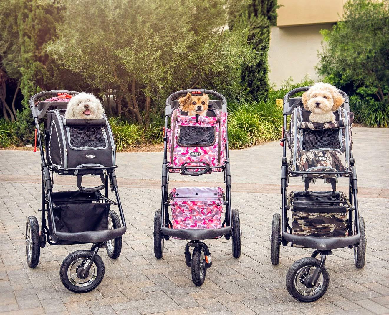 Petique Pet Stroller, Army Camo, One Size by Petique