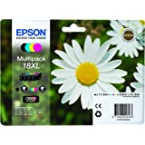 Epson XP30/ 302/ 405 XL Capacity Ink Cartridges - Black/ Cyan/ Magenta/ Yellow (Pack of 4)