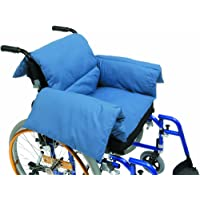 Drive DeVilbiss Healthcare T-Shaped Pillow Cushion in Blue Suitable for Electric / Manual Wheelchair