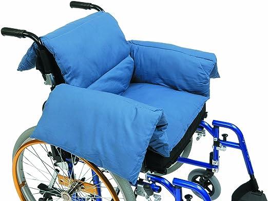 2 opinioni per Drive Medical RT-CU009- Cuscino a forma di T per sedia a rotelle, colore: blu