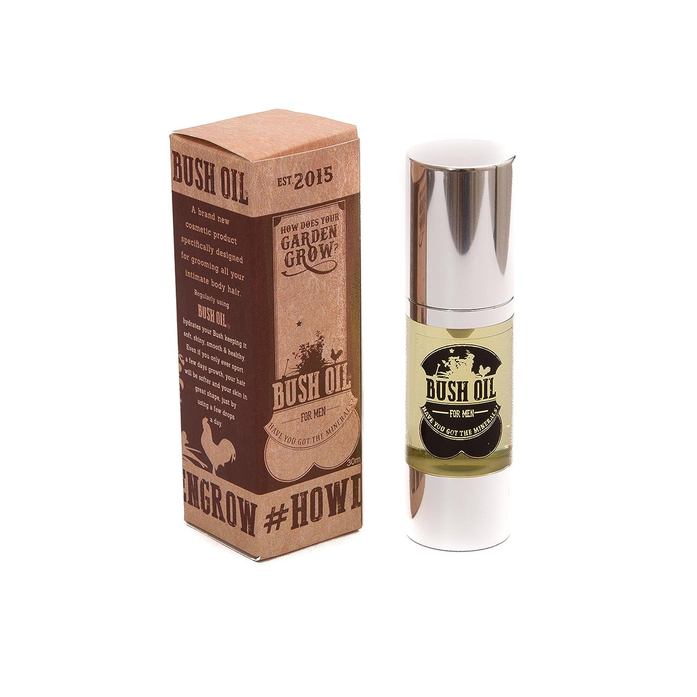 Bush Oil for MEN - Intimate Hair and Skin Oil BUSHOILM